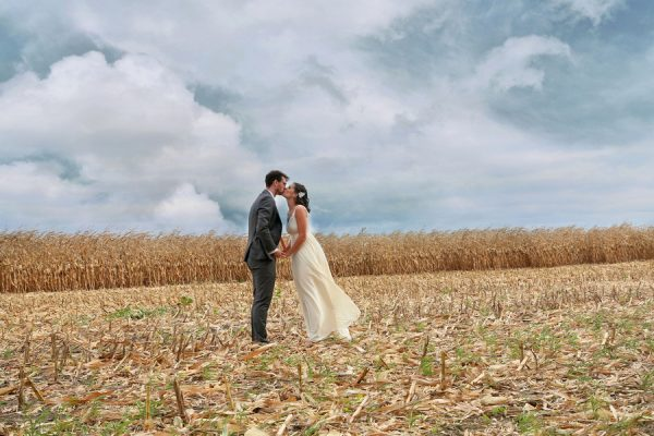 A Vintage Fall Wedding Filled With Chic Flair at Storybook Gardens | Amy + Jay
