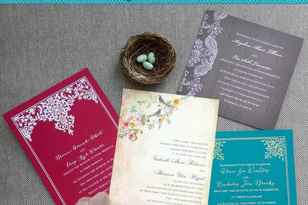 4 Vintage Wedding Invitation Themes Suitable For Any Budget